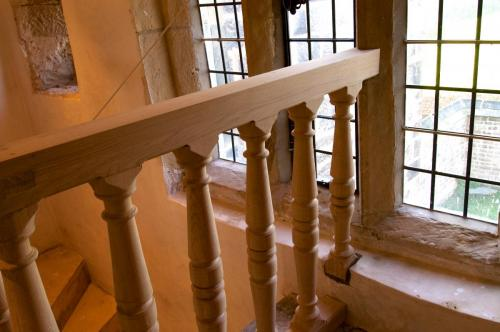Barcroft Hall Restoration - Stephen and Ross Tetlow - Lancs. Keyhole